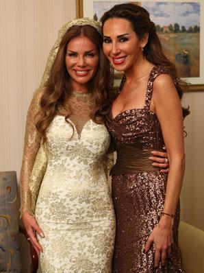 Nicole Saba and Ward Al Khal