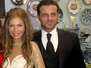 Nicole Saba and Yusuf Al-Khal at The Wedding