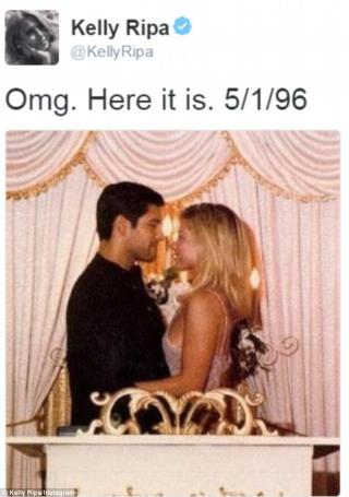 Kelly Ripa Wears 20 Year Old Wedding Dress to Anniversary
