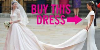 Pippa Middleton's Royal Bridesmaid Dress Now On Sale