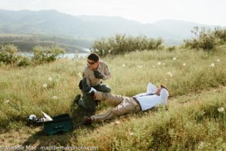 Groom Gets Bitten by Snake During Wedding Photo Shoot