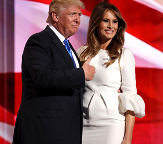 news melania trump files divorce