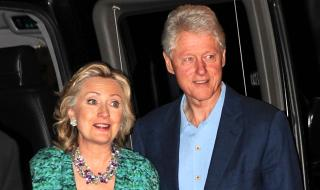Hillary Clinton Shares Wedding Picture