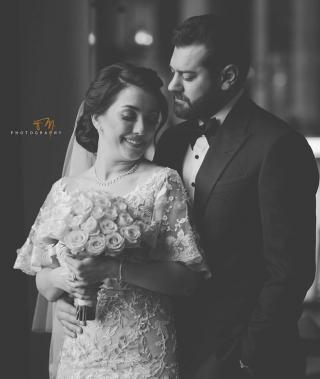 عمرو يوسف وكندة علوش يقيمان حفل زفاف ثاني