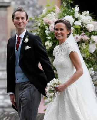 Pippa Middleton Takes Legal Action After Menus from Wedding Were Put on eBay