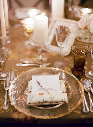 Old World Elegance Wedding Theme