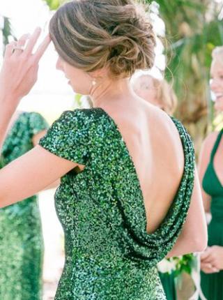 Jewel Tone Engagement Dresses We Love