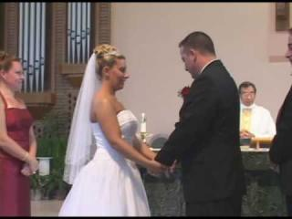 Embedded thumbnail for Bride and Groom Can't Stop Laughing
