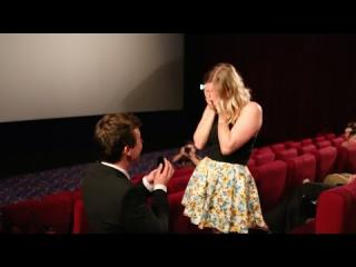 Embedded thumbnail for Marriage Proposal in Cinema Theater