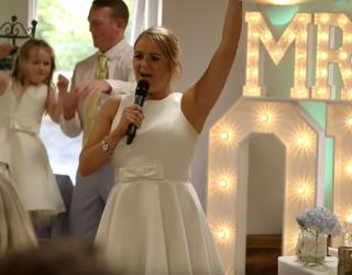Video Of Maid Of Honor Rapping Her Speech Goes Viral