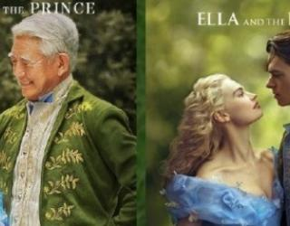 Chinese Elderly Couple Have a Disney Princess Themed Photoshoot