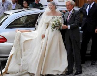Lady Charlotte Wellesley Weds Billionaire Financier in Spain