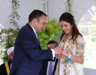 Son Of Princess Basma Gets Married