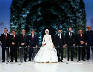Pictures From The Wedding Of Erdogan's Daughter