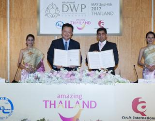 Thailand Named as Host Country for Destination Wedding Planners Congress 2017