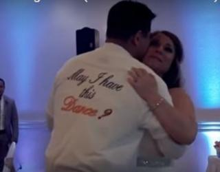 Video: Groom Honors Bride's Late Father with Emotional Dance