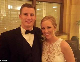 Bride Saves Unconscious Woman on Wedding Day