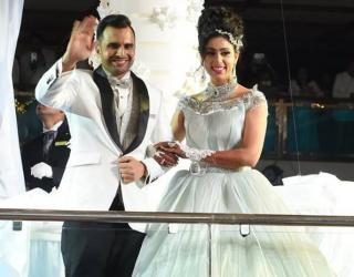 Cruise Liner Wedding for Dubai Based Indian Family