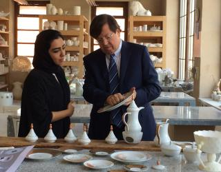Bernardaud and Sheikha Hind Launch Ramadan Collection Through Tanagra