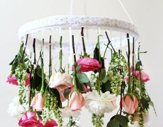 Hanging Centerpieces For A Unique Wedding