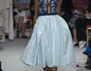 Oscar de la Renta Spring 2016 at New York Fashion Week