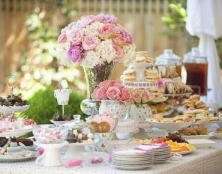 Bridal Shower Elegance: An Afternoon Tea Party
