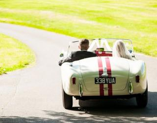 Beautiful Wedding Cars As Seen On Vogue