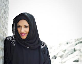 A Chit Chat with Arabia Weddings: Emirati Abaya Designer Hend Al Mutawa