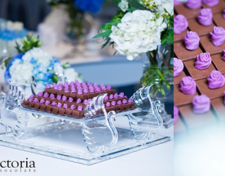 Beautiful Chocolates For Your Wedding by Victoria Chocolate Saudi Arabia