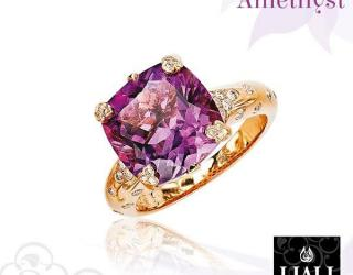 Amethyst Jewelry Pieces for The February Bride