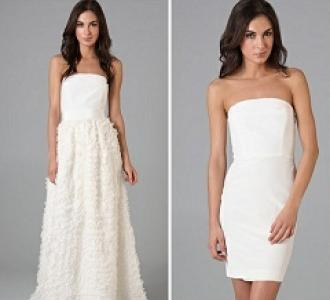 Bridal Trend: Convertible Wedding Dresses!