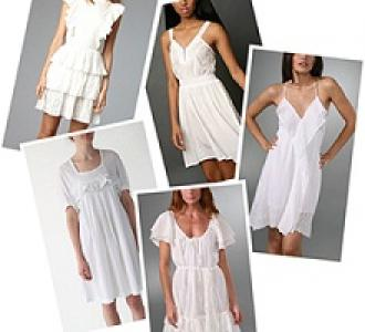 The Best White Summer Dresses Worn by Celebrities