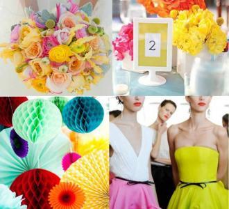 انتقي ألوانك المفضلة لديكور حفل زفاف أنيق