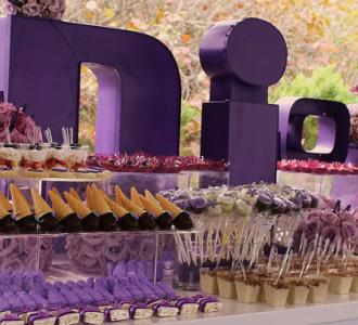 how to create sweet table