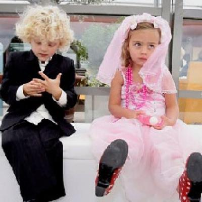 Who Says Having Children at Your Wedding Can't Be Fun?