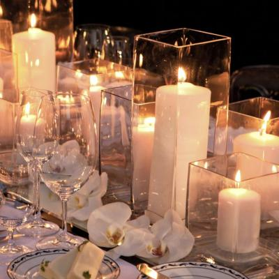 Candles Centerpieces