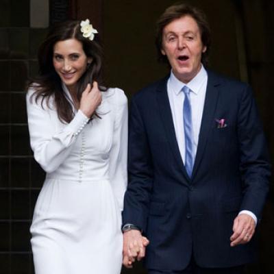 Paul McCartney and Nancy Shevell's Wedding Photos