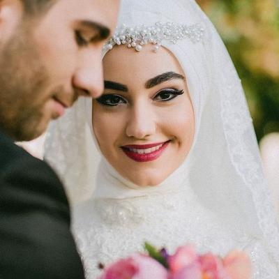 20 Beautiful Hijab Bridal Looks You Will Love