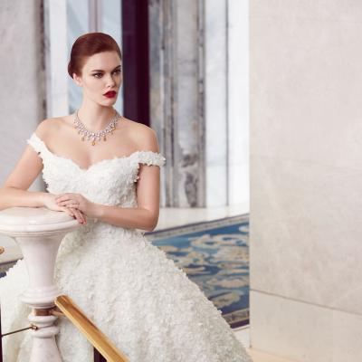 The 2018 Wedding Dresses by Ebru Sanci