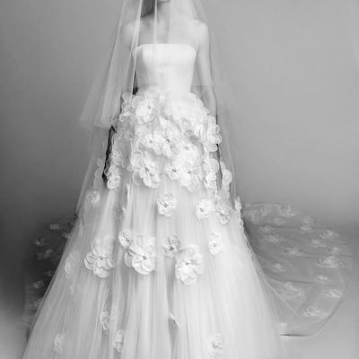 The Biggest Bridal Veil Trends in Spring 2018