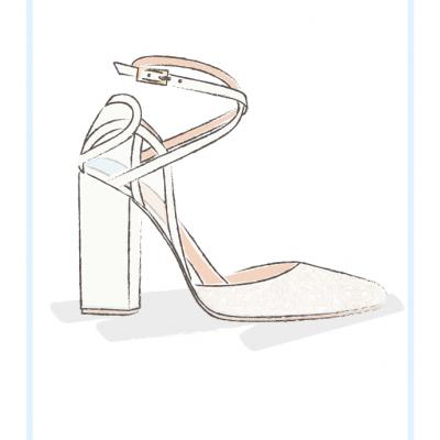 Meghan Markle Wedding Shoe Prediction by Charlotte Mills
