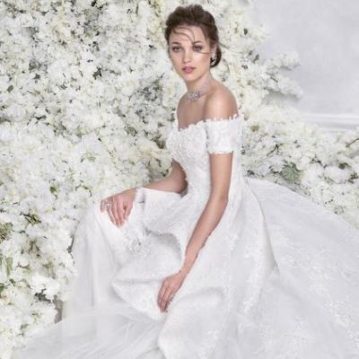 6 Beautiful 2018 Wedding Dresses by Arab Fashion Designers