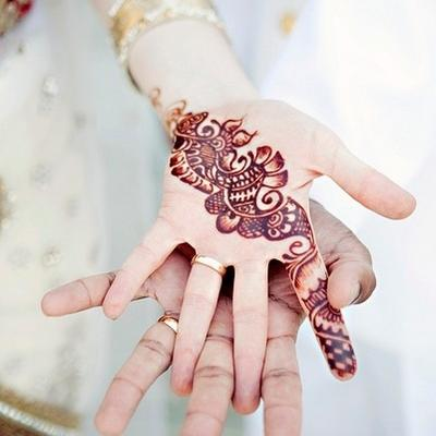 Beautiful Henna Designs For Arab and Indian Brides
