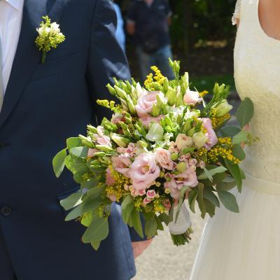أزهار زفاف فريدة من نوعها من داليا ديزاين