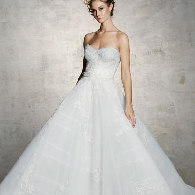 Fabulous Strapless Wedding Dresses