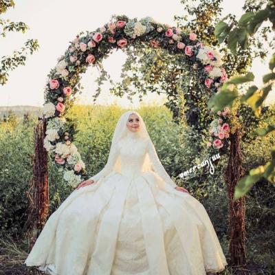 The Latest Hijab Wedding Dresses For The Bride of 2018