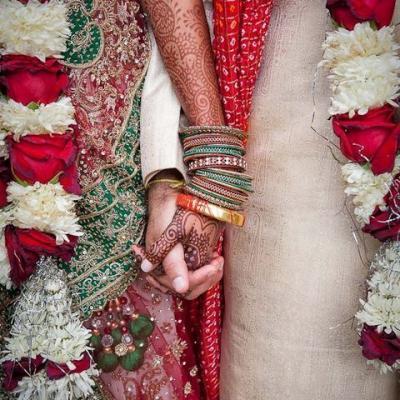 أفكار لحفل زفاف بستايل هندي أنيق