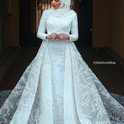 Beautiful Hijab Wedding Dresses Spotted On Instagram