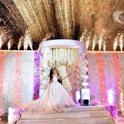 حفل زفاف ابراهيم وهلا في اللاذقية