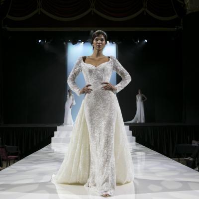 أهم صيحات موضة فساتين الزفاف في معرض هاروغيت للأعراس